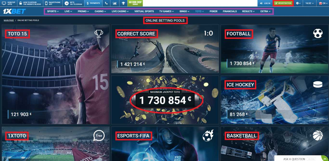 Everything you should know about 1xBet sport betting registration